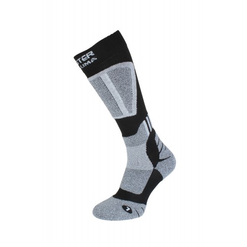 THERMOACTIVE SOCKS DRYCLIMA 25-5 BLACK GREY