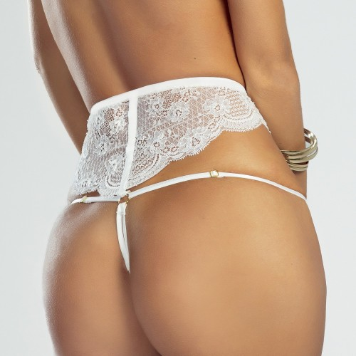 STRING WHITE ISLAND - PS LINGERIE